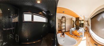 Douche, bain, lavabo 1<sup>er</sup> étage